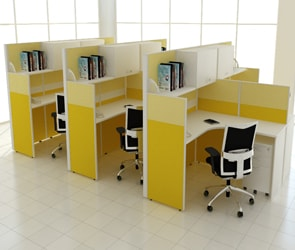 Open Plan Office Partitions